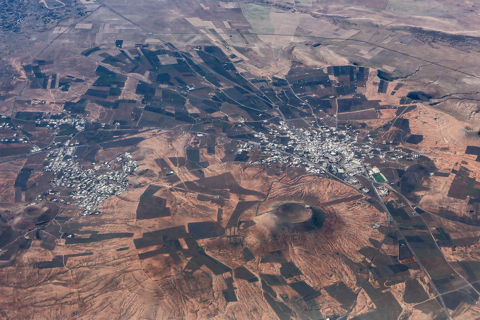 Teguise from the air