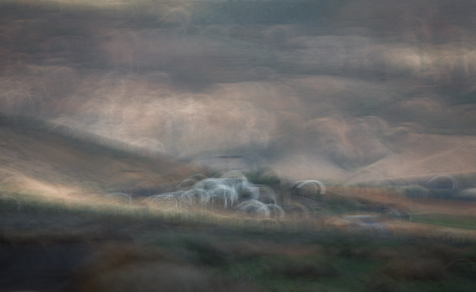 ICM image of Mala with volcanic backdrop